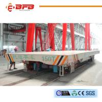 Buy cheap Production Line Busbar Powered Transfer Cart Customized Running Distance product