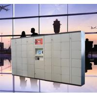 Buy cheap Airport Train Station Baggage Locker With Credit Card Payment And Advertising from wholesalers