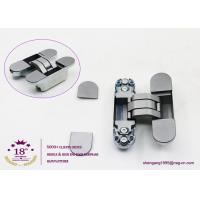 China 180 degree zinc alloy 3D adjustable concealed gate hinges heavy duty hinges for heavy doors wholesale