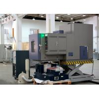 Buy cheap Temperature / Humidity / Vibration Environmental Test Chamber With Semi - Hermetic Compressor product