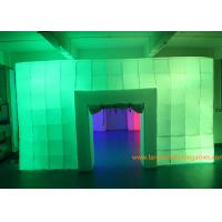 Buy cheap 8.5*6*3M Inflatable Air Tent , Inflatable Colorful Tent With LED Lights for outdoor event from wholesalers
