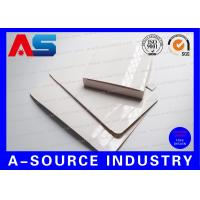 Buy cheap Plain Paper 2ml 10pcs Blank Box White Box Cheap For 10ml vials With Plastic from wholesalers