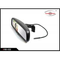 Buy cheap 115 Degree Horizontal Angle Car Rearview Mirror Monitor With Dome Reading Lights product