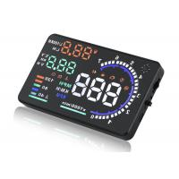 China A8 5.5 Inch Obd Ii Car Hud Head Up Display , Hud Device Universal Head Up Display For Cars on sale