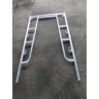 Buy cheap Walkthrough Frame scaffolding Hot dip galvanized manufactured from China factory product