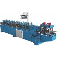 Buy cheap Galvanized Steel Rolling Door Frame Roll Forming Machine 13 Stations product