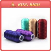 Quality 4000m Machine Embroidery Threads 120D / 2 / viscose filament yarn for sale