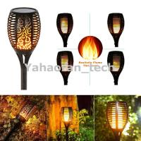Buy cheap 96 LED Flickering landscape Garden Lamp solar torch light with dancing flame product