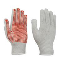 China Direct selling of high quality and low price manufacturers 10GPVC dots glove on sale
