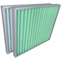Buy cheap Filteration System Panel Type Aluminum Frame Air Conditioner Air Filters G3 G4 product
