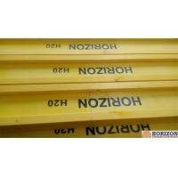 Waterproof Treated H20 Timber Beam , Yellow Timber H Beam For Slab Formwork