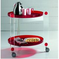 Buy cheap Acrylic Bar Cart ,Lucite Trolley product