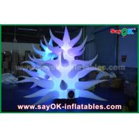 China 3mh Colorful 190T Oxford Cloth Inflatable Flower / Tree For Party Or Event on sale