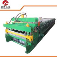 Buy cheap Double Deck Glazed Tile And IBR Sheet Building Material Metal Roofing Roll Forming Machine 1100-1072 from wholesalers