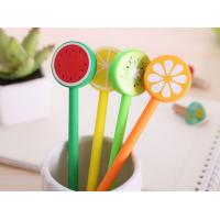 Buy cheap Colorful Fruit Shaped Promotional Products Pens With Plastic Case product
