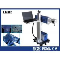 Buy cheap Online Flying Co2 Jeans Denim portable laser marking machine , small laser engraver product