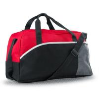 Buy cheap Large Black Travel Duffle Bags Carry On Luggage  , Men's Weekend Travel Bag  from wholesalers