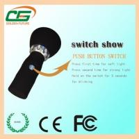 China High Power Rechargeable Waterproof LED Flashlight 3 watt With 90 Degree Ajustable Head on sale
