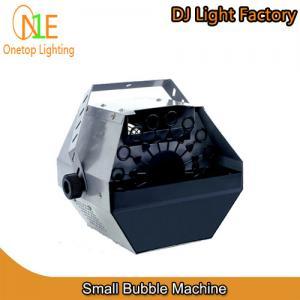 pequeña luz de la etapa de la fábrica de la luz de Guangzhou DJ de la máquina de la burbuja 60W