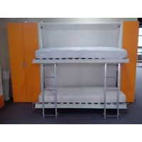 Buy cheap Pull Down Bunk Wall Beds , Double Wall Beds , E1 Grade Material White Color product