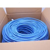 Buy cheap 23AWG Cat6 UTP Network Cable 4 pairs Copper 1000ft Per Roll 0.58mm Conductor product
