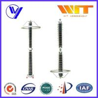 Buy cheap HV Silicone Ceramic Housing Metal Oxide Lightning Protector for Power Distribution Substation product