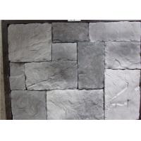 Buy cheap Durable Faux Stone Wall Tiles , Faux Stone Veneer Exterior / Interior Wall Decoration product