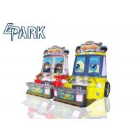 Buy cheap Amusement Park Kids Racing Game Machine Coin Operated Baby Swat 3 Car from wholesalers