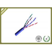 Buy cheap Pure Copper Cat5e UTP Cable For Network ,  24awg Unshielded Twisted Pair Cable product