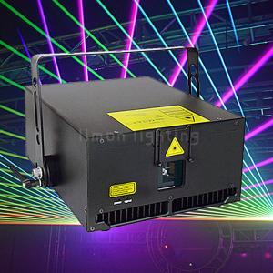 Buy cheap 6000mW 6W RGB ILDA DMX Animation Disco Stage Laser Light Projector product