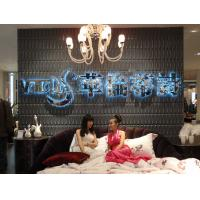 Thermoform composite pvc wall stencil 3d wallpaper for for 3d wallpaper for living room for sale
