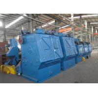 Critical Cleaning Rubber Track Shot Blaster Machine with PLC Control