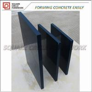 Buy cheap PP madera contrachapada revestida plástica de formación concreta superior de 100 de las épocas reutilizables para el hormigón del encofrado product