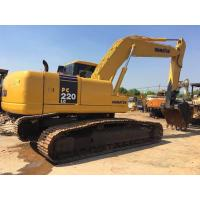 Buy cheap 22 tonnage Second hand Komatsu excavator PC220-7 with water collant engine & A/C from wholesalers