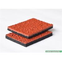Buy cheap SSGsportsurface All Weather Resistant Sandwich Rubber Flooring for Running Track from wholesalers