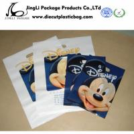 Buy cheap LDPE   Die Cut Handle store Plastic Bags resealable / Custom Logo , 100mm width product