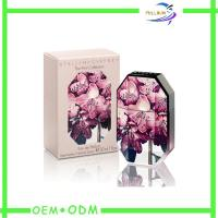 Buy cheap Beautiful Delicate Perfume Box  Decorative Velvet Wrapping , Perfume Paper Box product