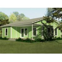 Buy cheap Green House Sandwich Panel Two Bedroom Modular Homes , Prefabricated Villa product