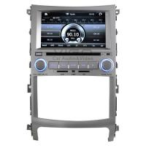 Buy cheap Sliding 3D Menu Car Multimedia Stereo Headunit Autoradio, Hyundai Sat Nav for Veracruz / X55 (2008-2009) VHV8840 product