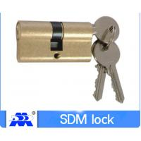 60mm Cylinder Lock Iron Key Brass Material 60mm-110mm Size ODM Service