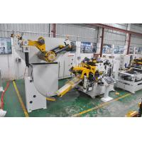 Buy cheap High Speed Coil Feeder Straightener Stamping And Leveling Machine For Sheet Metal product