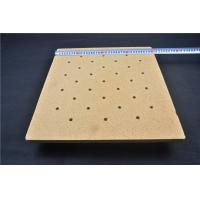 Buy cheap Furnace Use Porous Ceramic Plate , Refractory Lightweight Kiln Shelves SGS product