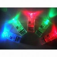 China LED Flash Finger/Novelty Light with Mini Color LED Torch, Used as Gift and Toy on sale