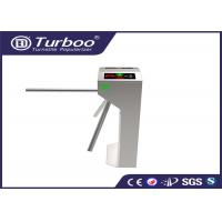 RFID Vertical Tripod Access Control Turnstile Gate Intelligent 3 Arm With Sensor
