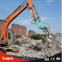 Buy cheap BEIYI manufacturer for excavator shear ,crusher and pulverizer /hydraulic attachment product