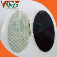 Buy cheap Non-woven TENS Electrode Pad,oval type,Gray QD-WFO002 product