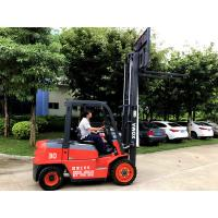 China Anti Slip 3 Stage Mast Forklift , High Reach Forklift Diesel XinChai Engine on sale