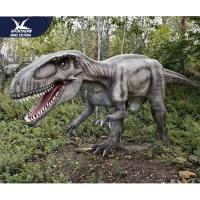 Buy cheap Theme Park Robotic Life Size Realistic Dinosaur Models With 12 Months Warranty product