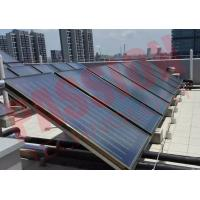 Buy cheap Low Emission Flat Plate Solar Heat Collector For Swimming Pool Solar Water Heater product