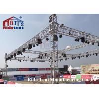 Buy cheap Line Array Stage LightTruss Systems 6082-T6 Aluminum Alloy High Hardness product